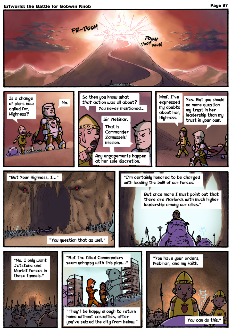 Comic - The Battle for Gobwin Knob - Episode 097