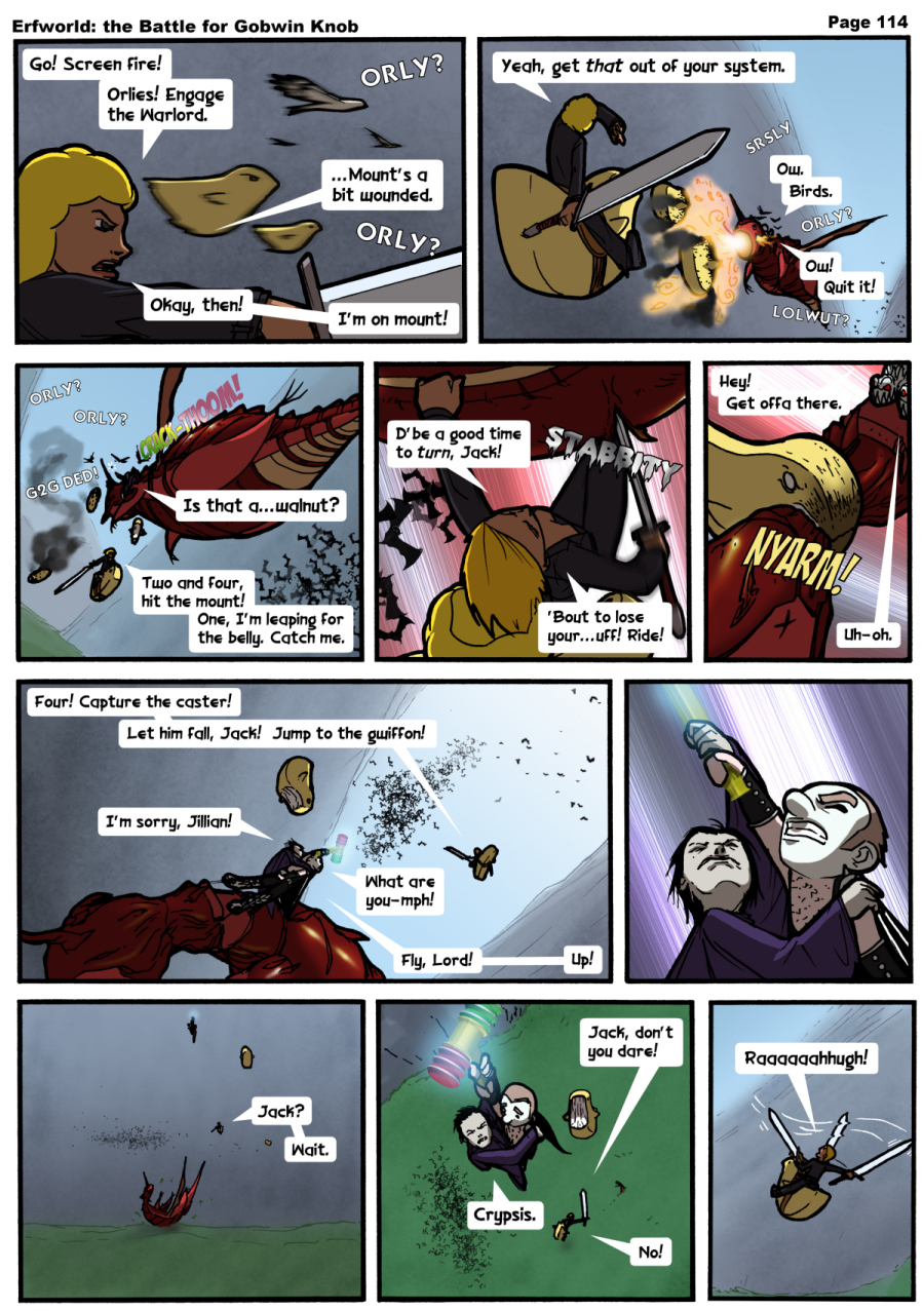 Comic - The Battle for Gobwin Knob - Episode 114