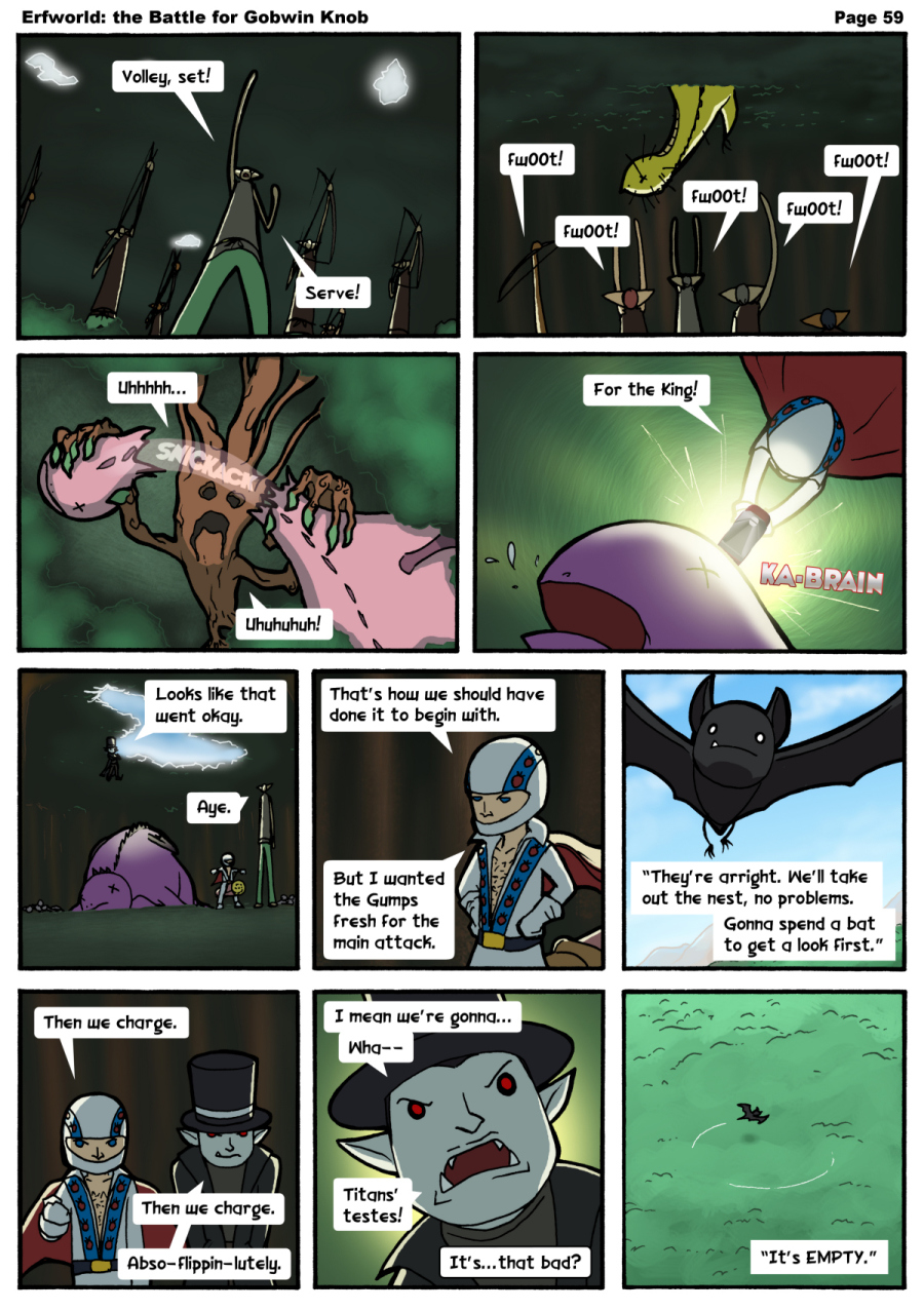 Comic - The Battle for Gobwin Knob - Episode 059