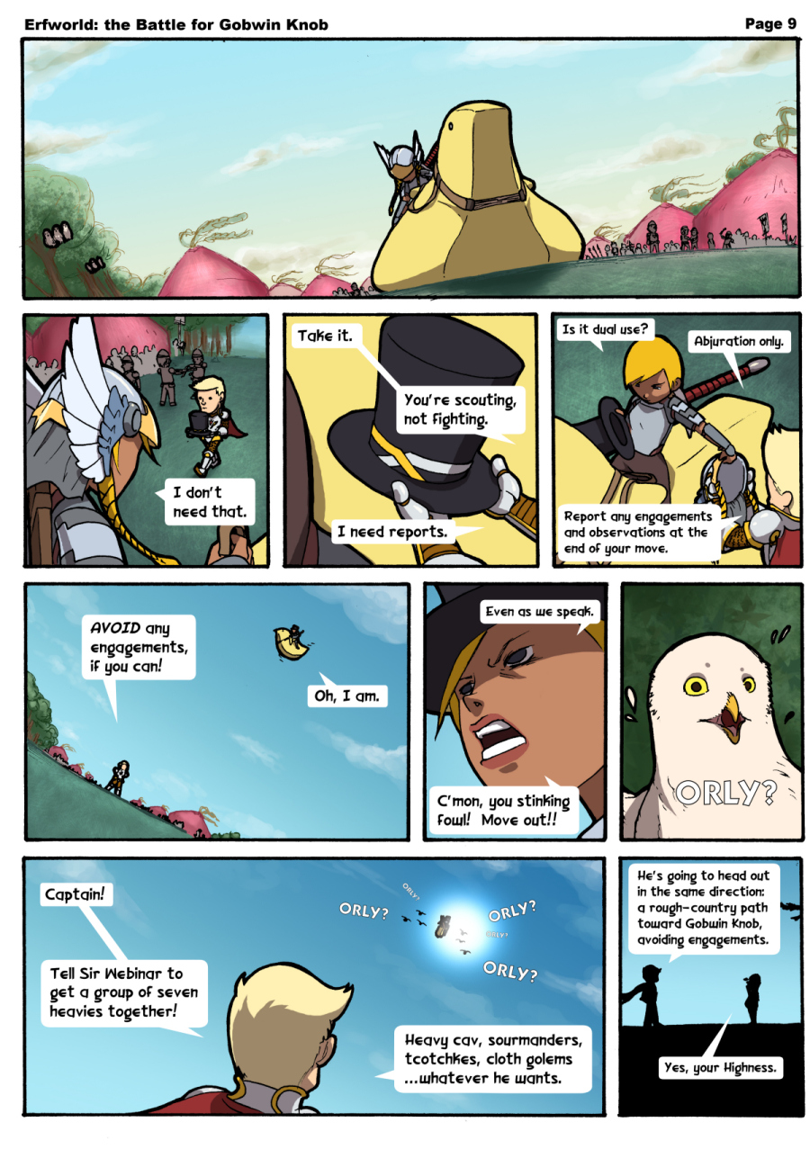 Comic - The Battle for Gobwin Knob - Episode 009