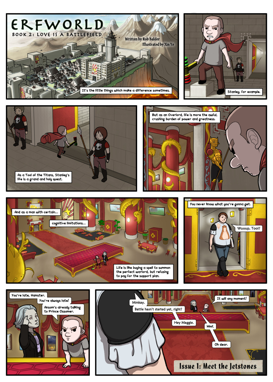 Comic - Book 2 - Page 1