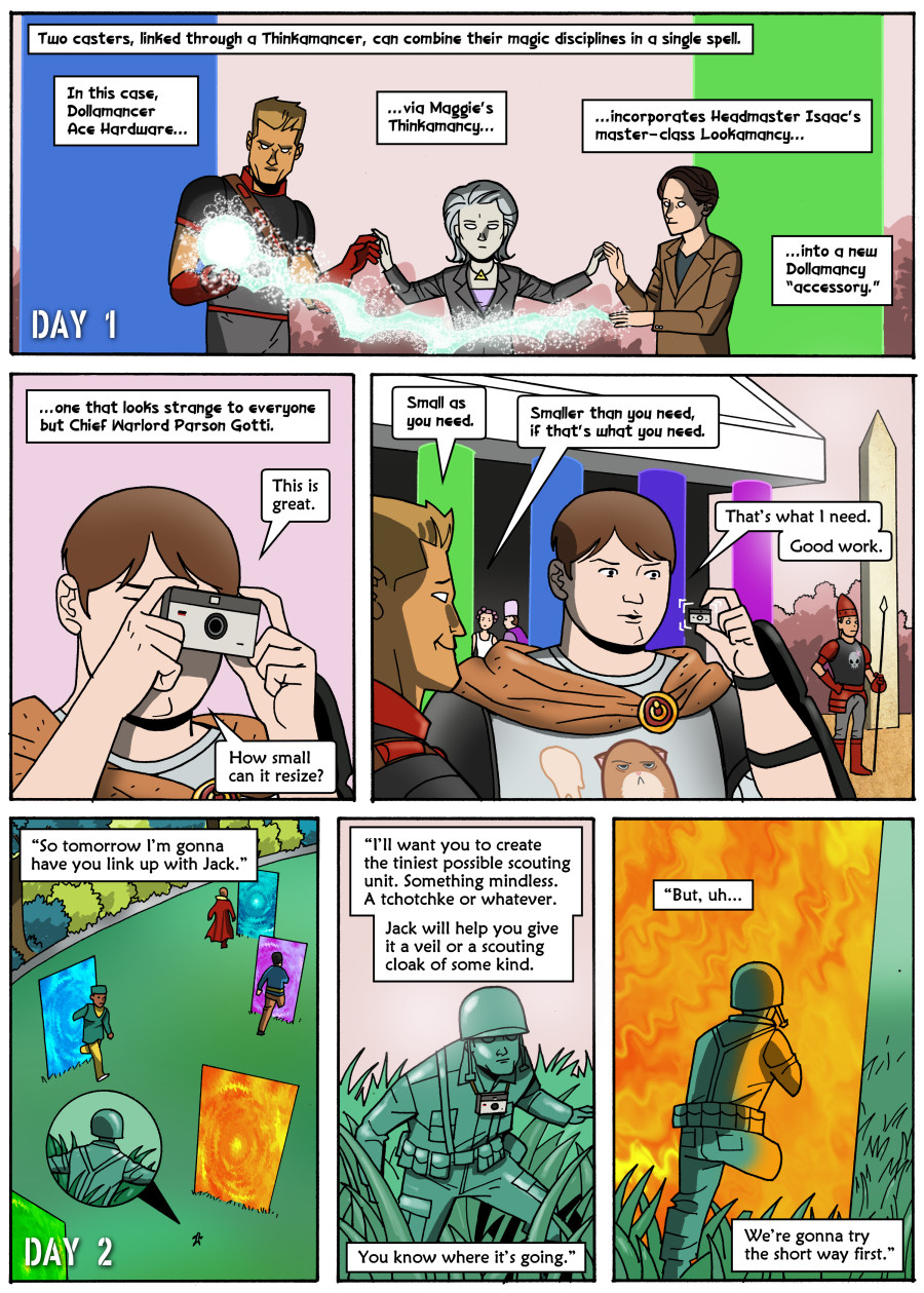 Comic - Book 3 - Page 1