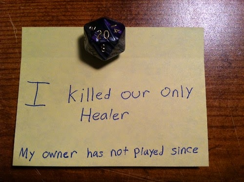 Dice Shaming Example