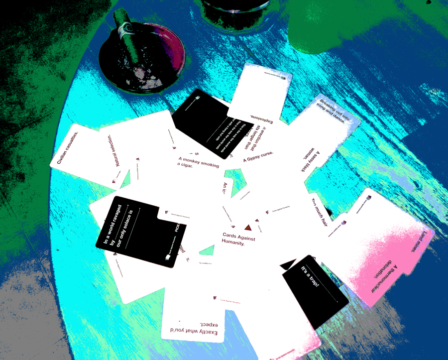 Cards Against Humanity On A Table