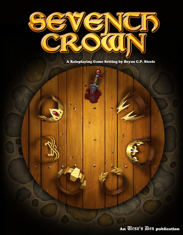 The Cover of the Seventh Crown Setting Book
