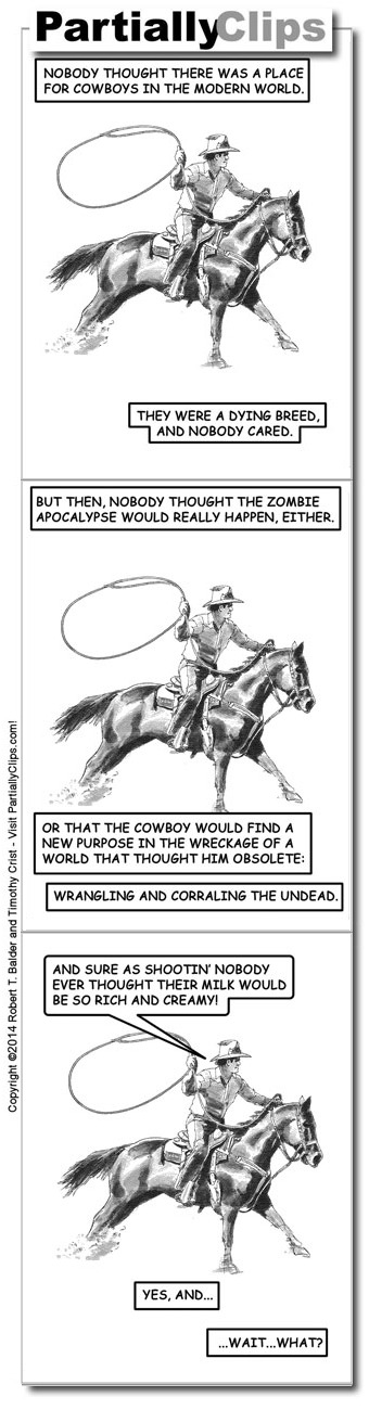 Comic - Cowboy Roping