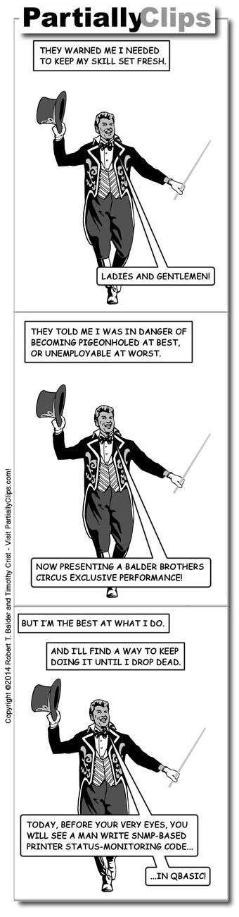 Comic - Ringmaster