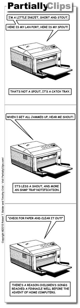 Comic - Printer